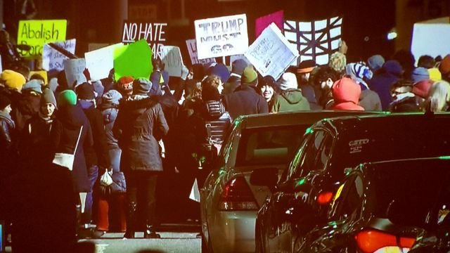 Judge Blocks Deportations as Protesters Rally Against Trump Travel Ban
