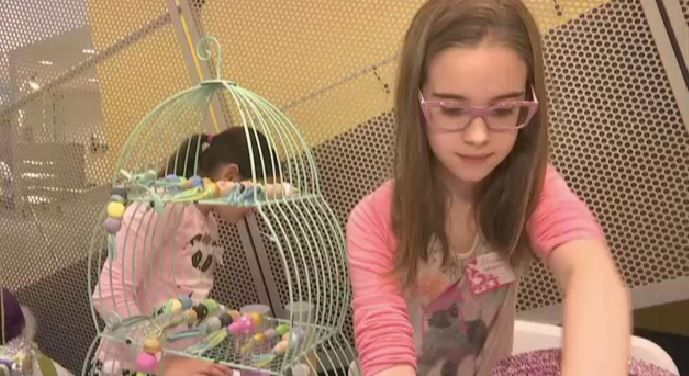 Kid Entrepreneurs Set up Shop in Corona