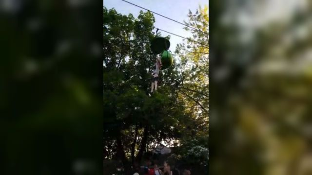 Girl's actions caused her to fall from NY park ride