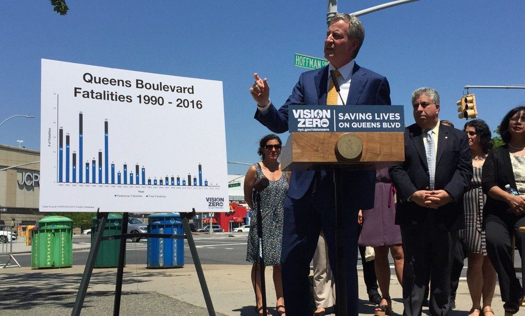 Boulevard of No Deaths: Zero Fatalities on Queens Boulevard in 925 Days, City Says