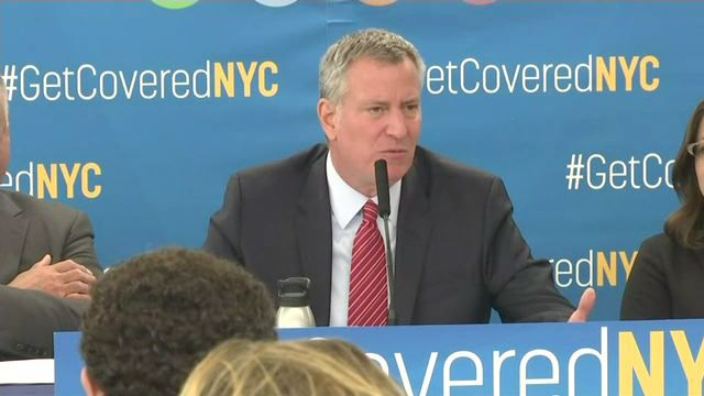 Mayor de Blasio has an $8 Million Plan to Save Obamacare from Trump's Promise of Repeal