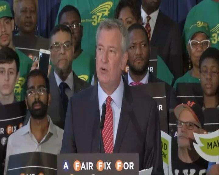 Mayor: Millionaires' tax needed to fix subway 'crisis'