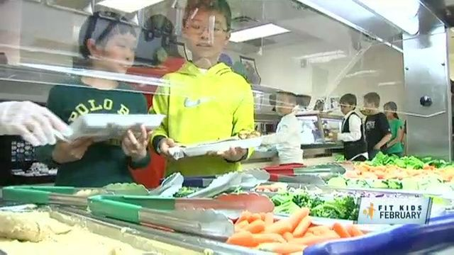 Fit Kids: Meat-Free School Lunches Really Veg Out