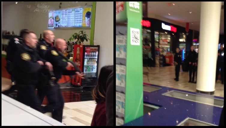 Two suspects in custody, active shooting in Crossgates Mall
