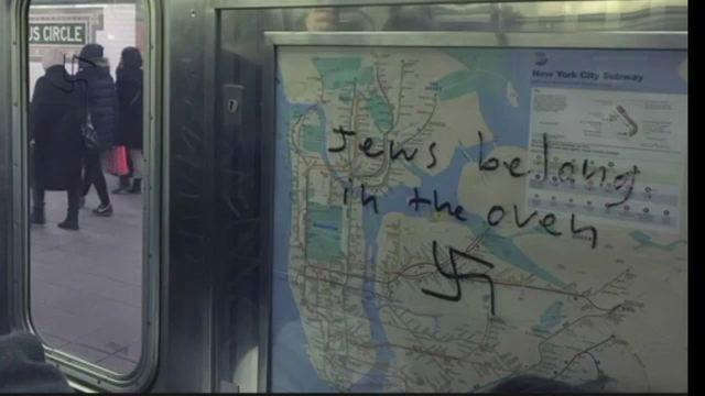 Man Who Helped Scrub Swastikas from Subway Train Tells Story Behind Viral Facebook Post