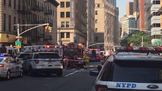 Explosión deja 35 personas heridas en Nueva York