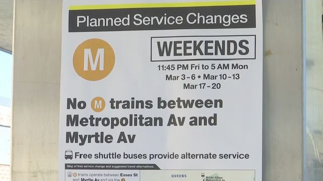 M Train Weekend Shutdowns a Preview of Major Disruption This Summer