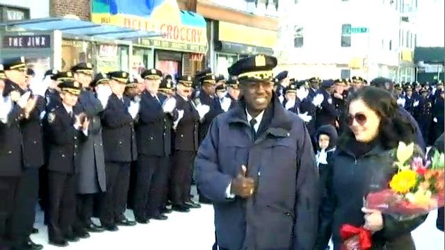 City's Highest Ranking African-American Officer Leaves Community-Based Policing for Retirement