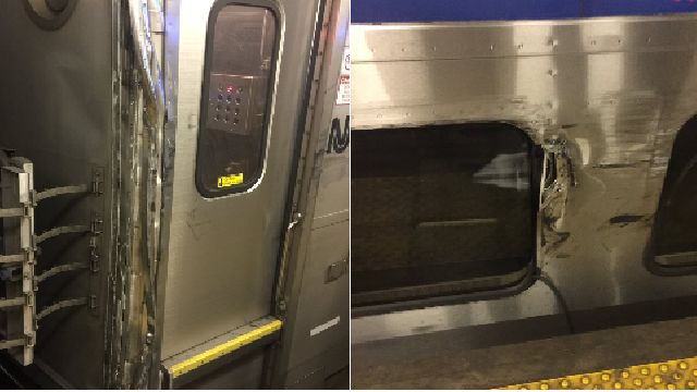 Se descarrila un tren de Amtrak en Penn Station