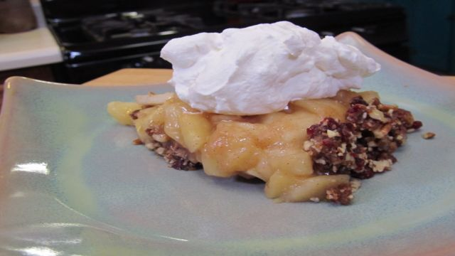 Gluten Free, No Bake Apple Pie