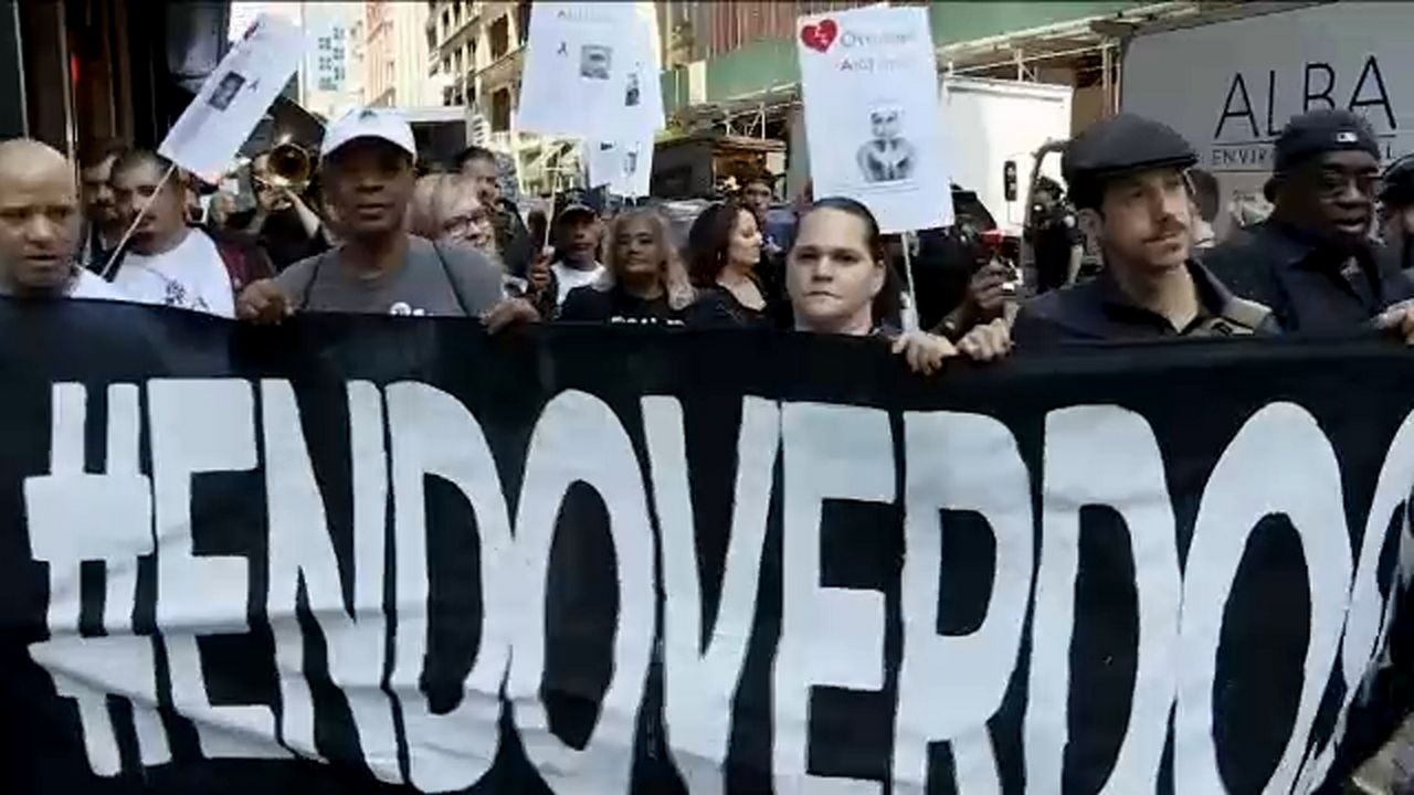 March calls attention to uptick in NYC overdose deaths