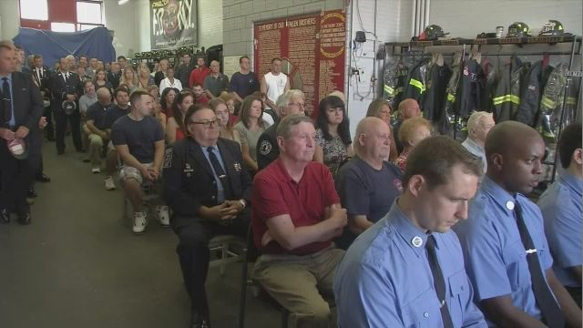 Red Hook Firehouse Honors 5 of Their Firefighters Who Died on 9/11, Their Remains Never Found