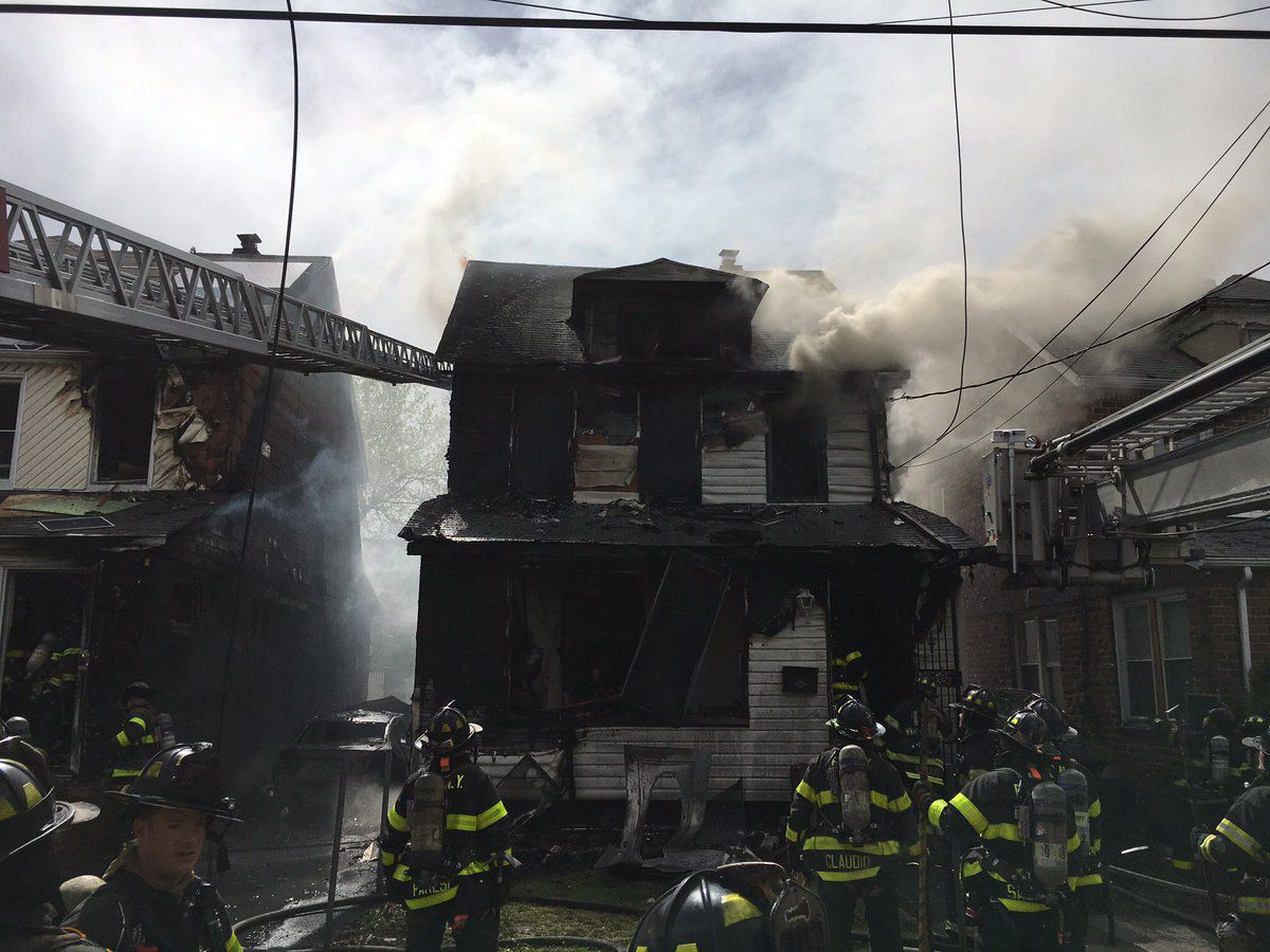 Witnesses describe man's daring escape from deadly Queens Village fire