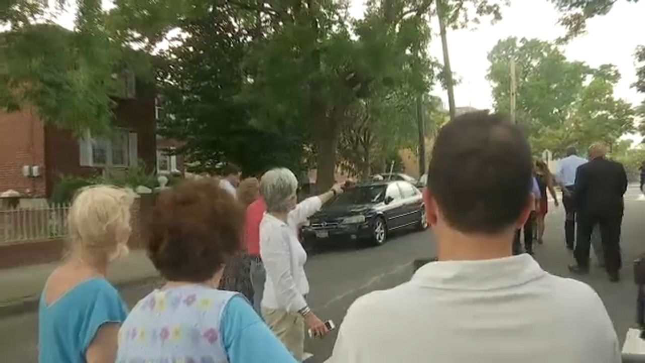 Whitestone resident gives de Blasio earful over Germany trip