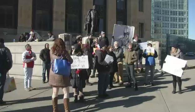 Paladino Protesters Shut Down Buffalo School Board Meeting Again