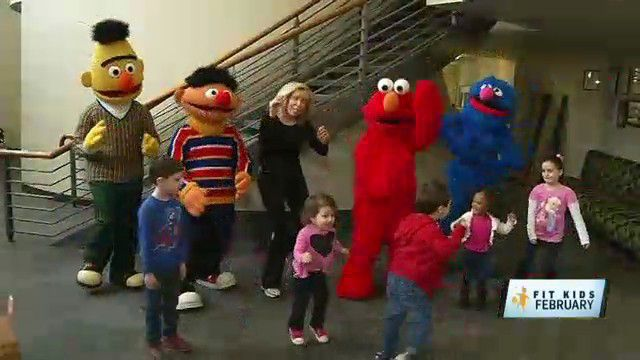 Fit Kids: Making Friends and Staying in Shape with 'Sesame Street Live'