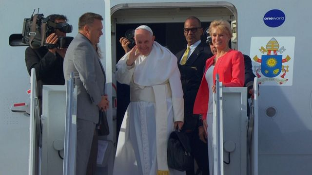 Pope Francis Requested to See Statue of Liberty, Ellis Island As He Left NYC