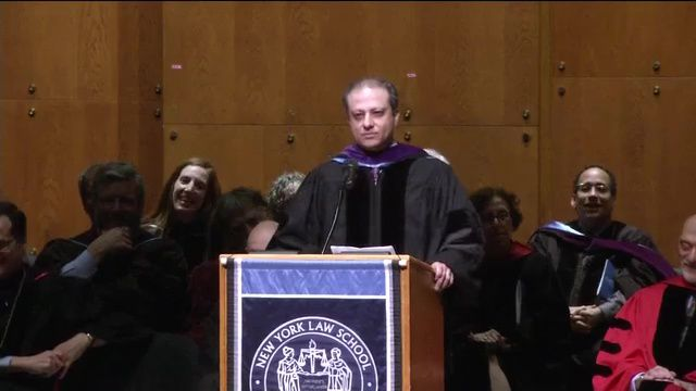 Bharara Praises Comey in Law School Commencement Address
