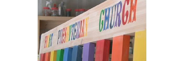 Builder Says New Ogdensburg Pride Church Bench Is Victory