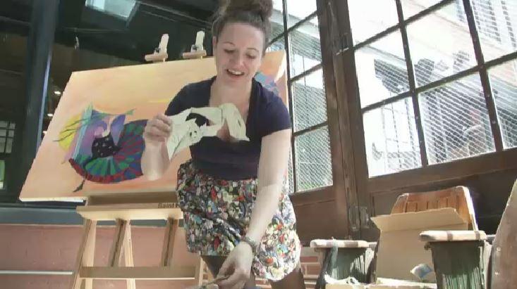 New Program Creates Art Studios in Queens Hotels