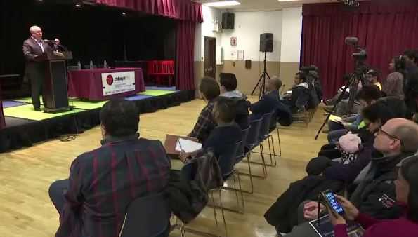 Residents Respond to Alleged Hate Crimes in Queens