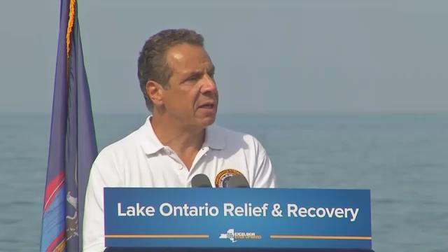NY Gov. Cuomo to seek federal help for Lake Ontario flooding