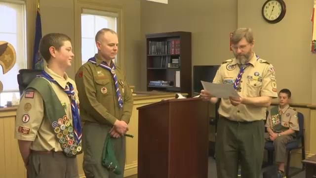 Avon Teen Becomes Fourth-Generation Eagle Scout