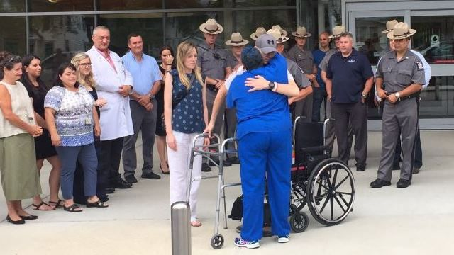Trooper badly injured in May crash released from hospital