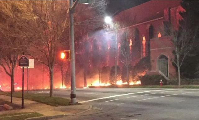 Church Works to Repair Damage from Raleigh Fire