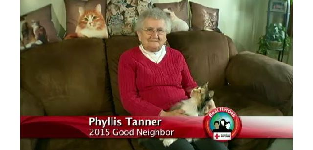 Red Cross 2015 Good Neighbor Real Hero: Phyllis Tanner