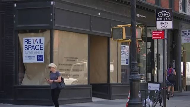 City's soaring retail rents lead to lengthy vacancies