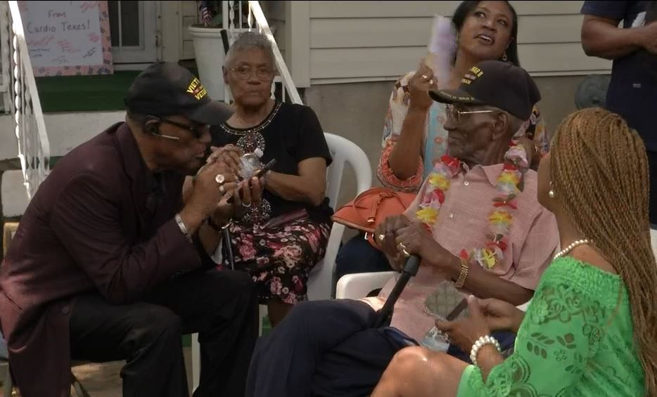 Oldest Living Veteran Gets Honorary Street Naming, For One Day