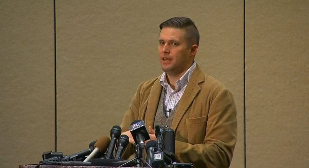 UNC says no to speech by white nationalist Richard Spencer