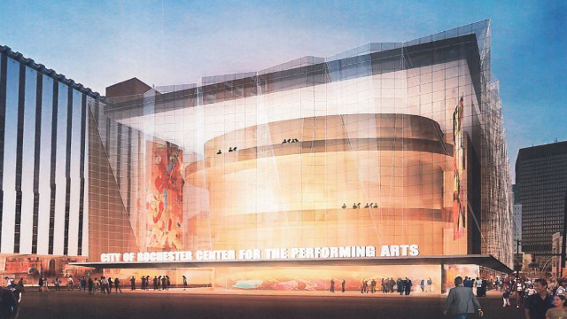 City Of Rochester Performing Arts Center Study | Autos Post