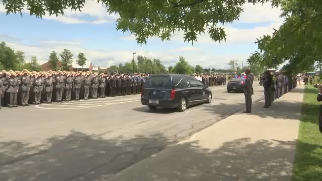 Law enforcement remembers fallen trooper