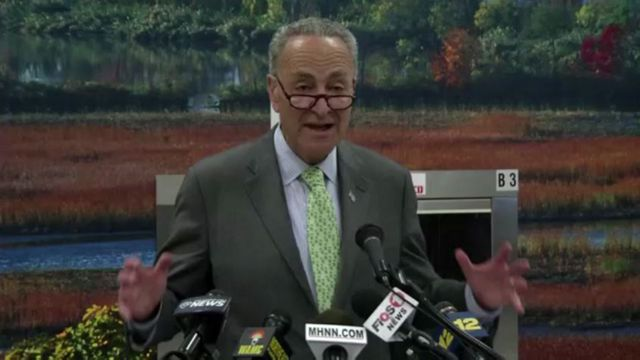 Schumer Pushes to Update Water, Sewer Systems at Stewart Airport