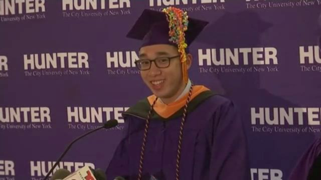 Hunter Student on Stalled Subway who Missed Graduation Gets His Degree