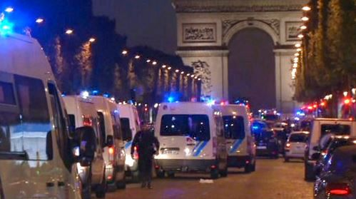 Officials: Police had Champs-Elysees Attacker in Their Grasp