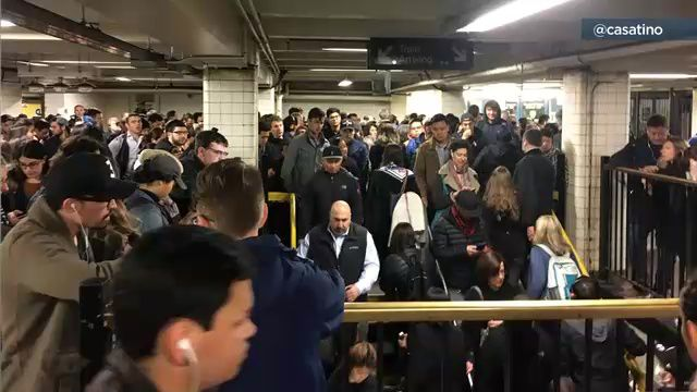 Subway Power Problem Leads to Mass Confusion for Commuters