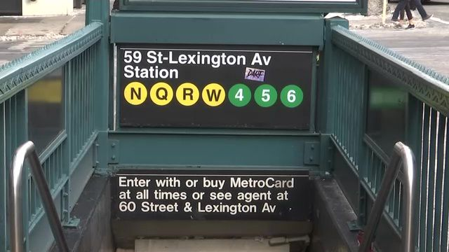 Some Signs At Lexington Avenue 59th Street Station Incorrectly Say Q Train Still Stops There