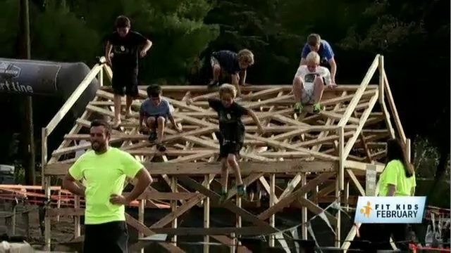 Fit Kids February: Kids Toughen Up at Brooklyn Obstacle Course