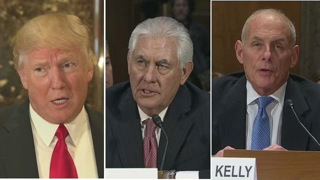 Trump Says He Has No Problem with Cabinet Nominees Disagreeing with Key Policies
