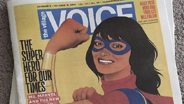 Village Voice ends print edition, going digital only