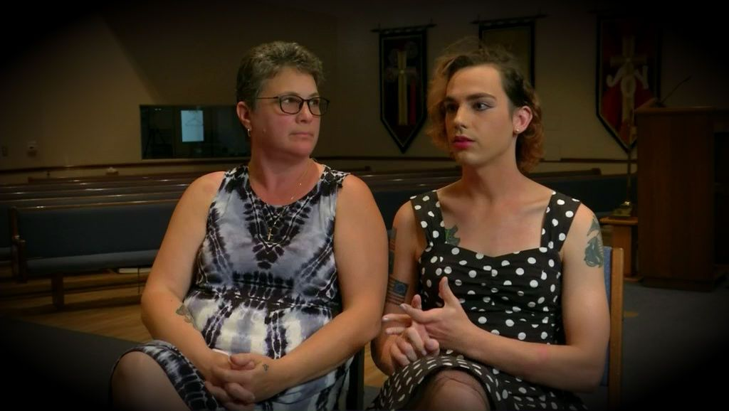 Transgender veteran speaks out against bathroom legislation