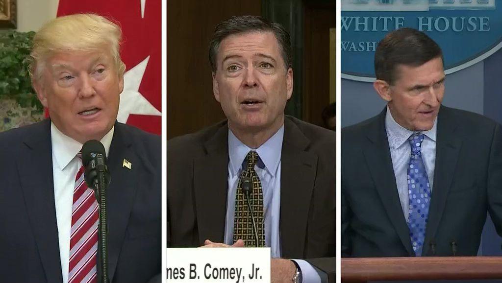 Trump accuses Comey of felony perjury in congressional testimony