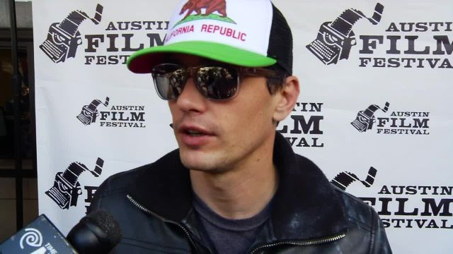 Actor James Franco Returns to Austin Film Festival