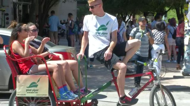 Peddle Power: Pedicab Pilots Bring in Big Bucks During SXSW
