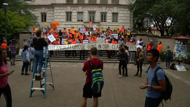 UT Faculty Continue to Fight Campus Carry Law