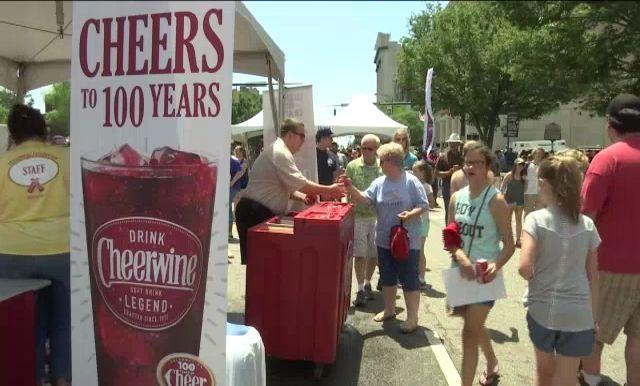Salisbury Soda, Cheerwine, Turns 100