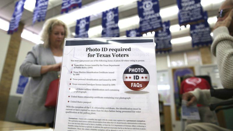 Feds reportedly drop opposition to Texas voter ID law